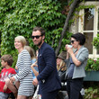 Sadie Frost and Wedding Guests