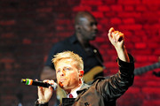 Nicky Byrne of Westlife in concert at the 2011 Hampton Court Palance Festival in London.