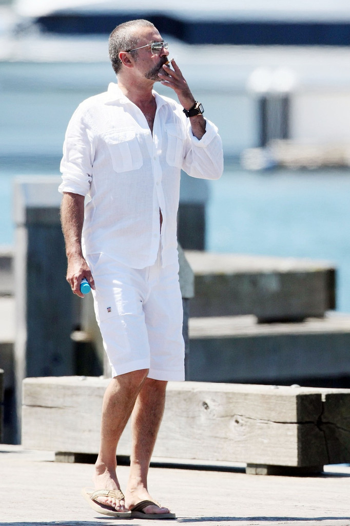 George Michael Photos Photos George Michael Vacations In Australia Zimbio