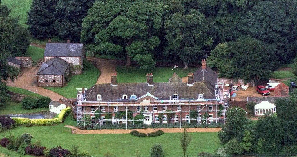 The Stunning Anmer Hall On The Sandringham Estate In