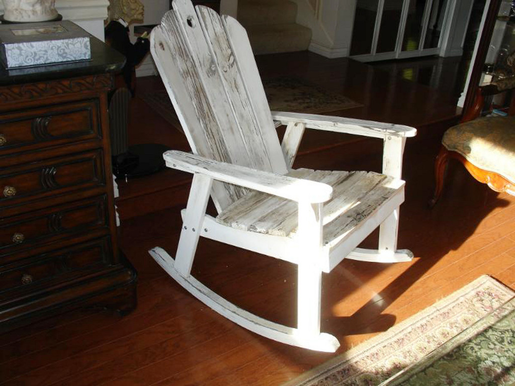 wooden rocking chair with an image of jesus zimbio