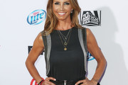 Charisma Carpenter Embellished Top