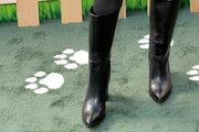 Rachael Leigh Cook Knee High Boots
