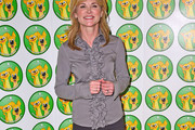 Anthea Turner Ruffle Blouse