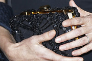 Carla Bruni-Sarkozy Beaded Clutch