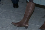 Camilla Parker Bowles Knee High Boots