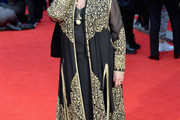 Judi Dench Evening Coat