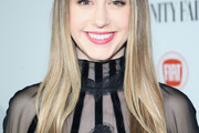 Taissa Farmiga Long Straight Cut