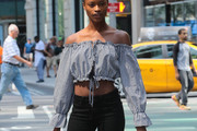Mayowa Nicholas Crop Top