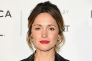 Rose Byrne Messy Updo