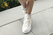 Josephine Skriver Leather Sneakers