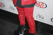 Missy Elliott Leather Pants