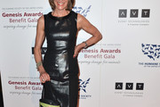 Wendy Malick Leather Dress