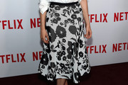 Taylor Schilling Knee Length Skirt