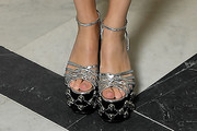 Stacy Martin Studded Heels