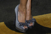 Tracie Thoms Peep Toe Pumps
