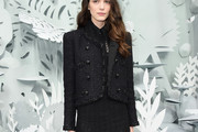 Stacy Martin Tweed Jacket