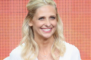 Sarah Michelle Gellar Half Up Half Down