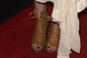 Haley Bennett Lace Up Boots