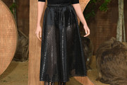Karlie Kloss Sheer Skirt