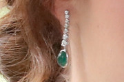 Princess Eugenie Dangling Gemstone Earrings