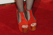 Ingrid Michaelson Platform Sandals