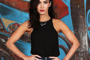 Megan Fox Loose Blouse