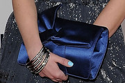Laura Slade Wiggins Satin Clutch