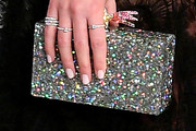 Halston Sage Box Clutch