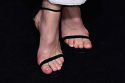Katherine Waterston Strappy Sandals