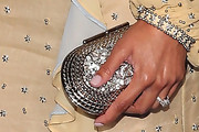 Meagan Good Metallic Clutch