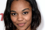 China Anne Mcclain Asymmetrical Cut
