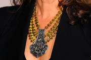 Amy Grant Silver Statement Necklace