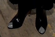 Julianne Moore Studded Boots