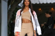 Jourdan Dunn Bomber Jacket