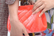 Zhou Xun Quilted Clutch