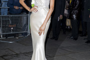 Jourdan Dunn Strapless Dress