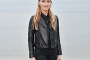 Amber Heard Leather Jacket