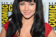 Ksenia Solo Long Wavy Cut with Bangs