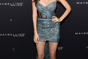 Victoria Justice Strapless Dress