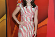 Mae Whitman Print Dress