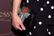 Kimberly Schlapman Leather Clutch