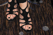 Kate Capshaw Strappy Sandals