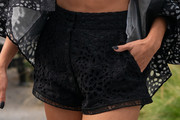 Vanessa Hudgens High-Waisted Shorts