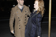 James Van Der Beek Pea Coat