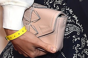Alison Brie Leather Clutch