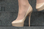 Sophie Countess of Wessex Platform Pumps
