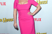 Jodie Sweetin Form-Fitting Dress