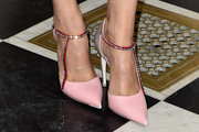 Laetitia Casta Evening Pumps