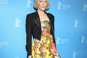 Cate Blanchett Cropped Jacket
